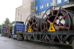 транспортировка трубопроводов ТВЭЛ-ПЭКС