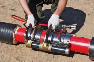 линейный стык 160/225 мм, пресс-фитинги